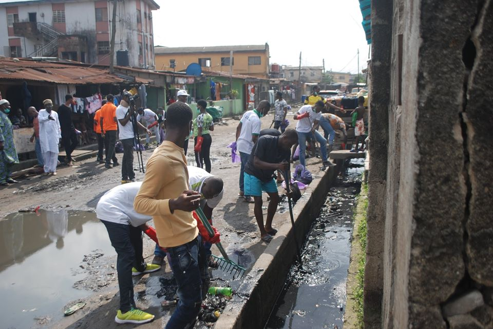 DRAINAGE AND GUTTERS IN LAGOS ARE DISCONNECTED, DISJOINTED AND LEAD TO NOWHERE